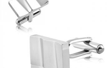 Manžetové knoflíčky z chirurgické oceli - MK1020