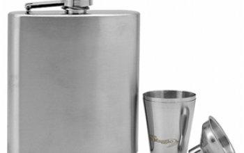 Lucca di Maggio® Ocelová kapesní lahev - placatka…