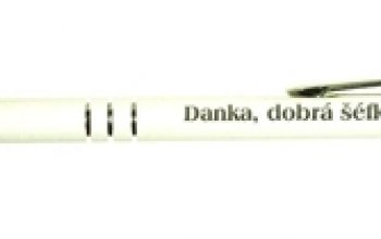 Kuličkové pero s rytinou textu - EM1001-09