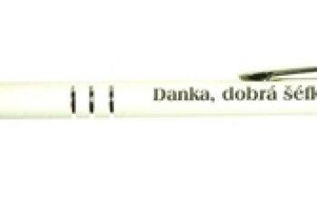 Kuličkové pero s rytinou textu - EM1001-03