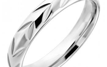 NUBIS® NSS3002 Dámský snubní prsten ocel -…