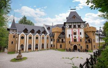 Královský rodinný pobyt na zámku Lužec – 7×noc v…