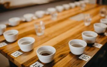 | Domácí degustace kávy