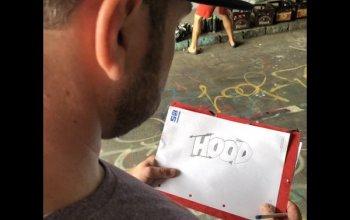 Kurz graffiti malby