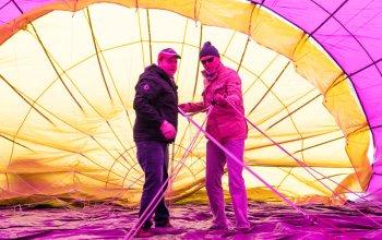 Pilotem balónu na zkoušku