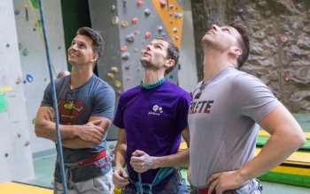 Individuální lekce lezení na stěně