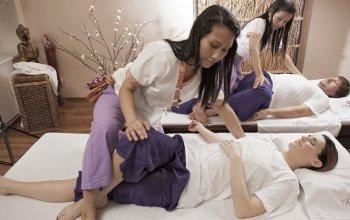 Thajská masáž pro dva
