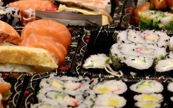 Umění sushi a japonské kuchyně + láhev…