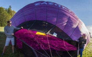 Romantický let v balónu pro dva