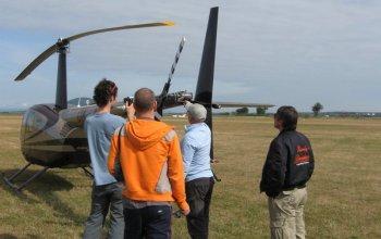 Vyhlídkový let vrtulníkem Robinson