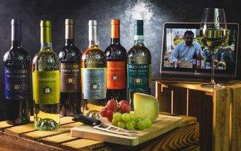 Dárkový balíček šesti druhů italských vín +…
