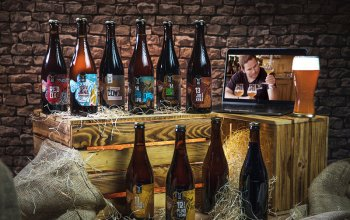 Dárkový balíček 10 druhů piva Zlatá Kráva +…