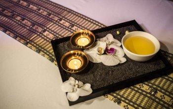 Arganová olejová masáž