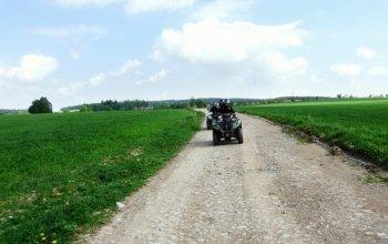 Dobrodružná jízda na čtyřkolce Vysočina
