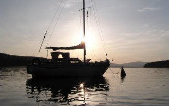 Den na jachtě