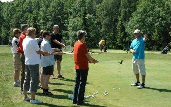Kurz golfu pro začátečníky - zelená karta