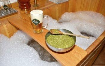 Pivní koupel s neomezenou konzumací piva Bernard…