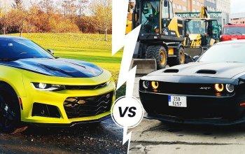 Souboj legend Dodge vs. Camaro