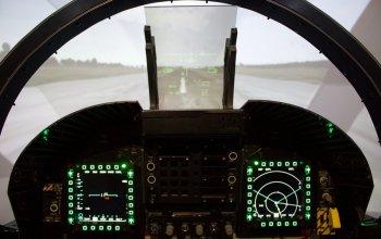 Letecký simulátor stíhačky F/A-18 Hornet