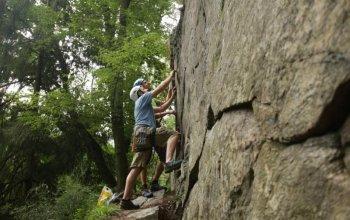 Kurz lezení na skalách Praha