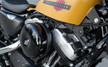 Jízda na motorce Harley Davidson Forty-Eight Praha