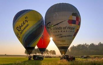 Soukromý let balónem Vysočina