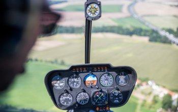 Vyhlídkové lety vrtulníkem