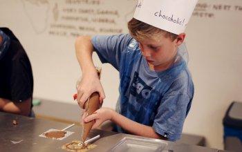 Čokoládové tvoření pro rodinu
