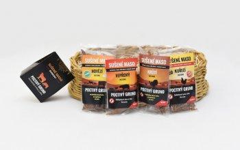 Dárkový koš sušeného masa – 12 balení + masové…