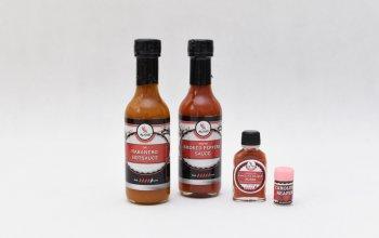Dárkové balení extrémně pálivých chilli omáček…