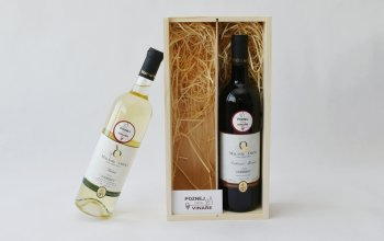 Dárkové balení vína: 2 láhve