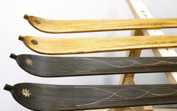 Kurz výroby dřevěných lyží