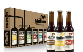 Degustační set piva Muflon – 6× 0,33 l