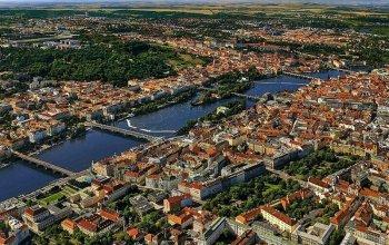 Vyhlídkový let nad Prahou Praha