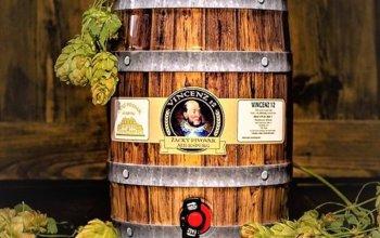 Párty soudek piva Vincenz 12: obsah 5 l