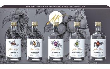 Whisky a další destiláty