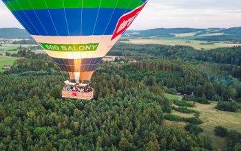 Vyhlídkový let balónem po celé ČR