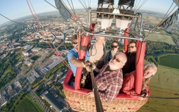 Privátní let balónem + 5 profesionálních fotek