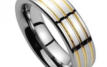 NUBIS® NWF1052 Pánský snubní prsten - velikost 73…