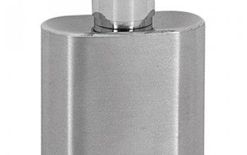 MINI ocelová kapesní lahev - placatka 30ml - 98383