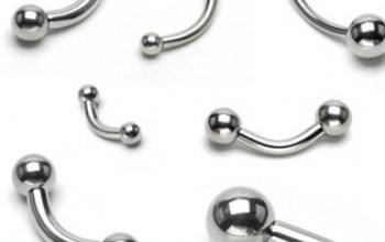 Piercing do obočí - kuličky - OB01100-12103