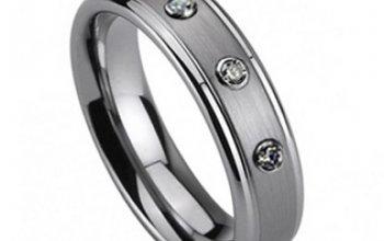 NUBIS® NWF1005 Dámský snubní prsten se 3mi…