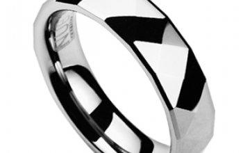 NUBIS® NWF1034 Dámský snubní prsten wolfram -…
