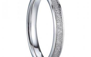 7AE AN1007 Pánský snubní prsten - velikost 62 -…
