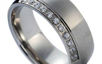 NUBIS® NSS1005-Zr-C Dámský snubní prsten s čirými…