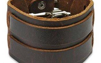 Kožený náramek NR1017 - NR1017