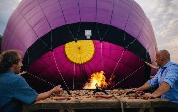 Zážitky s povinnými účastníky a váhou - balóny
