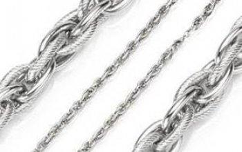 Pánský ocelový řetěz, tl. 6,5 mm, délka 60 cm -…