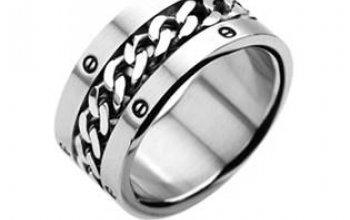 Ocelový prsten OPR1203 - velikost 75 - OPR1203-75