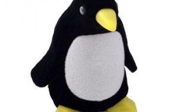 Dárková krabička semiš - tučňák - KR0116